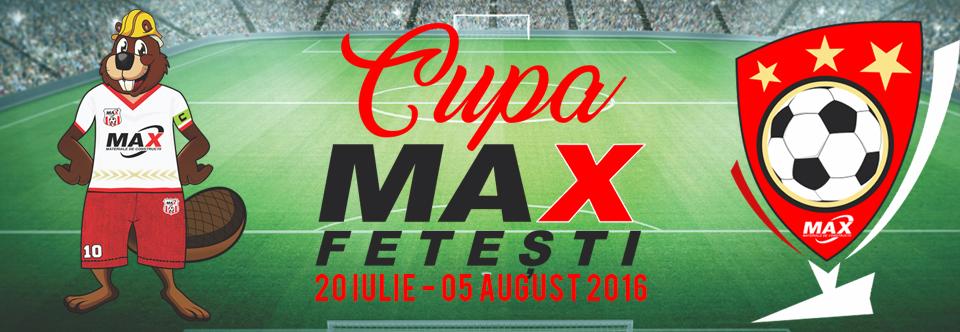 CUPA MAX – Cupa orasului Fetesti de minifotbal