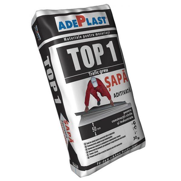 Sapa de egalizare ADEPLAST Top 1, 30 kg, pentru interior si exterior